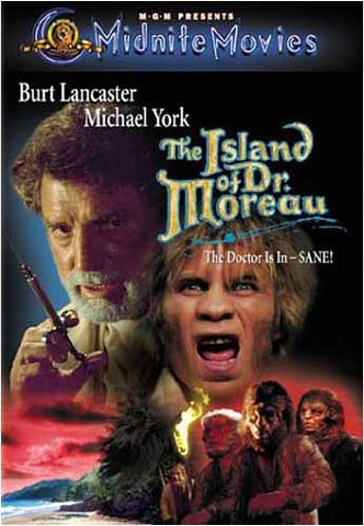 The Island of Dr. Moreau (L'ile De Dr Moreau)(Don Taylor) (MGM) (Bilingual) DVD Movie