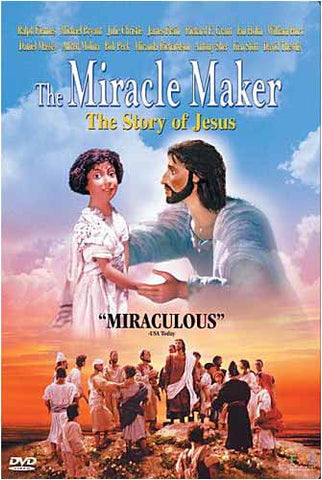 The Miracle Maker - The Story of Jesus DVD Movie