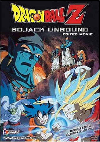 Dragon Ball Z - Bojack Unbound (Edited Movie) DVD Movie