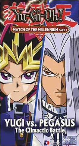 Yu-Gi-Oh! - Match of the Millennium : Part 1 (Vol. 12) DVD Movie
