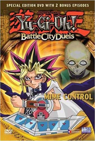 Yu-Gi-Oh! - Battle City Duels - Mime Control (Vol. 5) DVD Movie