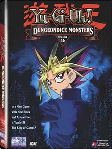 Yu-Gi-Oh! - Dungeondice Monsters (Vol. 16) DVD Movie