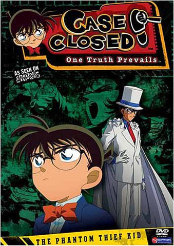 Case Closed - The Phantom Thief Kid - Season 5 - Vol.4 (Uncut) DVD Movie