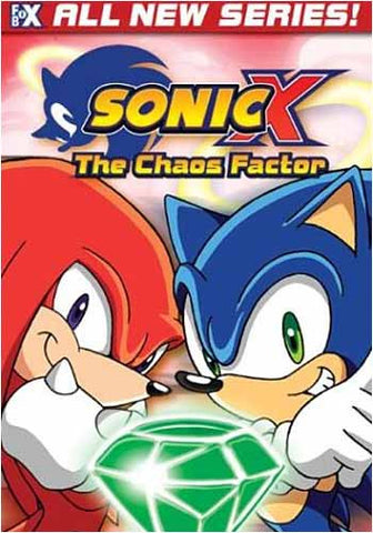 Sonic X - The Chaos Factor DVD Movie