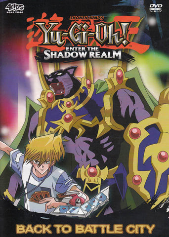 Yu-Gi-Oh! - Enter the Shadow Realm - Back to Battle City (Season 3, Vol. 1) DVD Movie