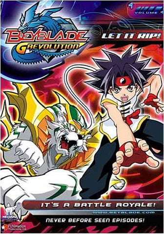 Beyblade - Grevolution - Let It Rip - It's a Battle Royale! - Vol.4 DVD Movie