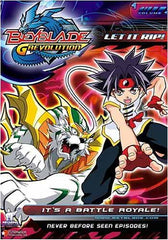Beyblade - Grevolution - Let It Rip - It's a Battle Royale! - Vol.4