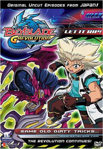Beyblade - Grevolution - Let It Rip! - Same Old Dirty Tricks - Vol.6 DVD Movie