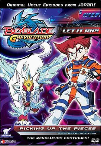 Beyblade G Revolution - Let It Rip! - Picking Up the Pieces - Vol.5 DVD Movie
