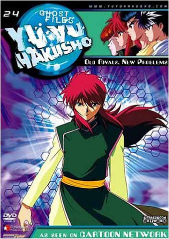 Yu Yu Hakusho Ghost Files - Volume 24: Old Rivals, New Problems (Edit) DVD Movie
