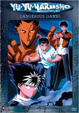 Yu Yu Hakusho Ghost Files - Volume 23: Dangerous Games (Edited) DVD Movie