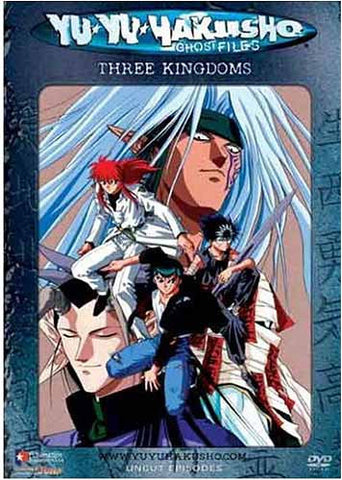 Yu Yu Hakusho Ghost Files - Volume 28: Three Kingdoms (Uncut) DVD Movie