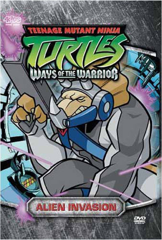 Teenage Mutant Ninja Turtles - Ways of the Warrior - Alien Invasion (Vol. 3.1) DVD Movie