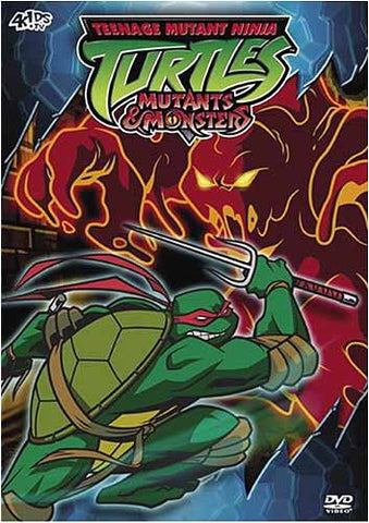 Teenage Mutant Ninja Turtles - Season 3.5: Mutants and Monsters DVD Movie
