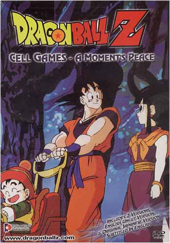 Dragon Ball Z - Cell Games - A Moment's Peace (Uncut) DVD Movie