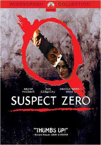 Suspect Zero (Widescreen Edition) DVD Movie