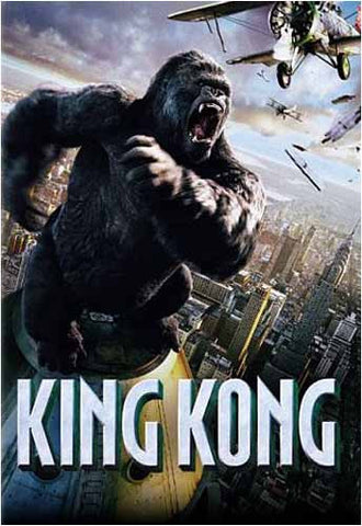 King Kong (Widescreen) (Peter Jackson) DVD Movie