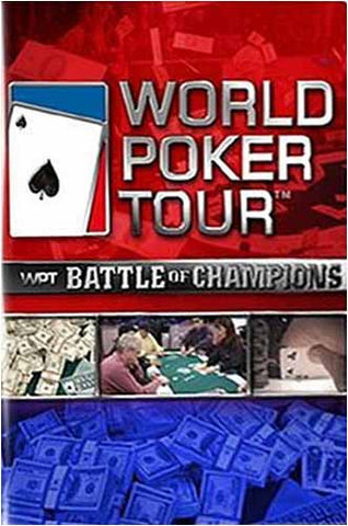 World Poker Tour - Battle of Champions DVD Movie