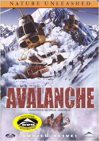 Nature Unleashed - Avalanche(Bilingual) DVD Movie