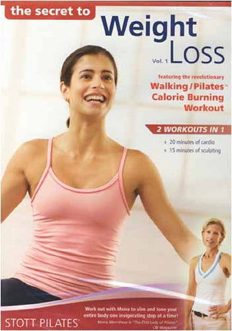 Stott Pilates - The Secret to Weight Loss (Vol. 1) DVD Movie