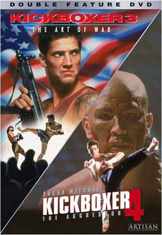 Kickboxer 3 The Art of War / Kickboxer 4 The Aggressor DVD Movie