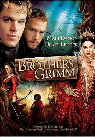 The Brothers Grimm(matt damon) (Bilingual) DVD Movie