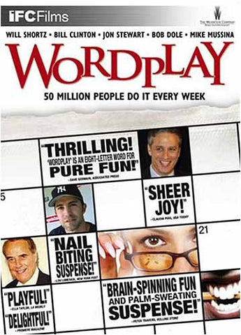 Wordplay DVD Movie