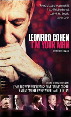 Leonard Cohen - I'm Your Man DVD Movie