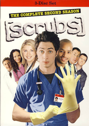 Scrubs - The Complete Second Season (Boxset) DVD Movie