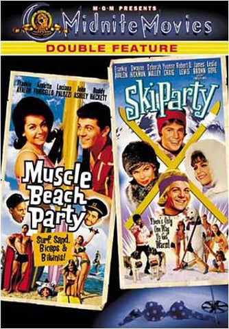 Muscle Beach Party / Ski Party (Double Feature) (MGM) DVD Movie