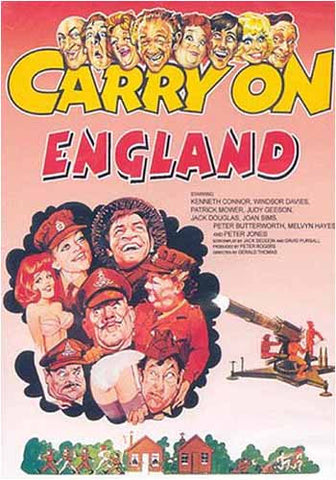 Carry on England DVD Movie