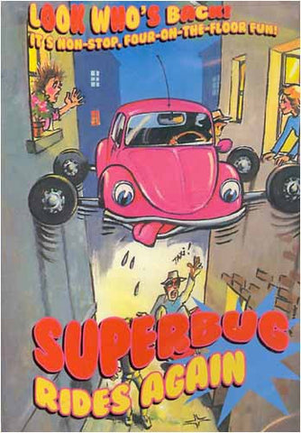 Superbug - Rides Again DVD Movie