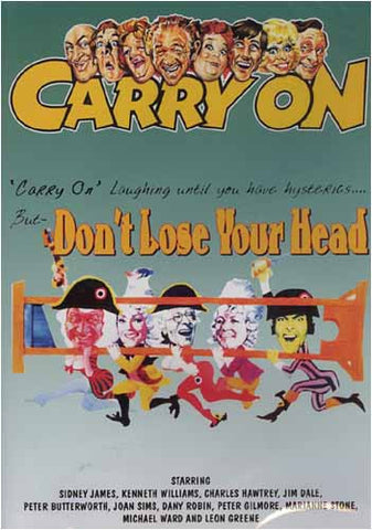 Carry on Don't Lose Your Head DVD Movie