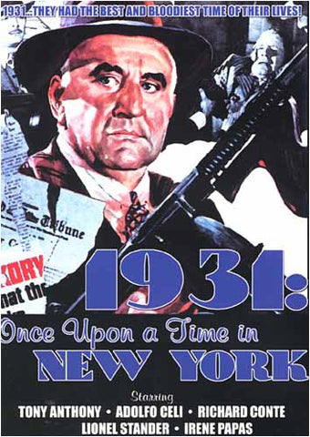1931- Once Upon a Time in New York DVD Movie
