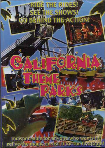 California Theme Parks DVD Movie