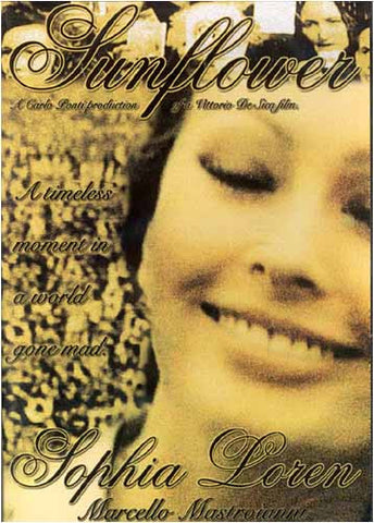 Sunflower (Sophia Loren) DVD Movie