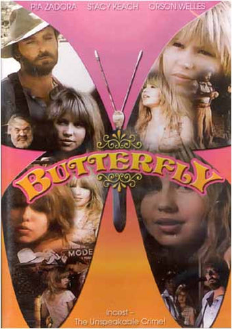 Butterfly (Pia Zadora) DVD Movie