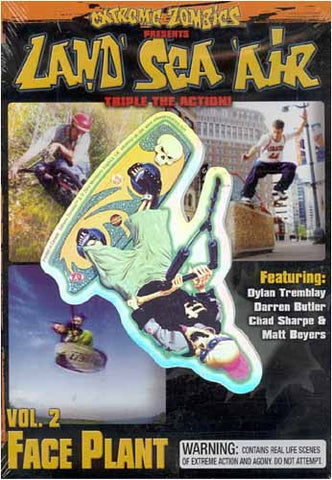 Land Sea Air - Vol. 2 - Face Plant DVD Movie