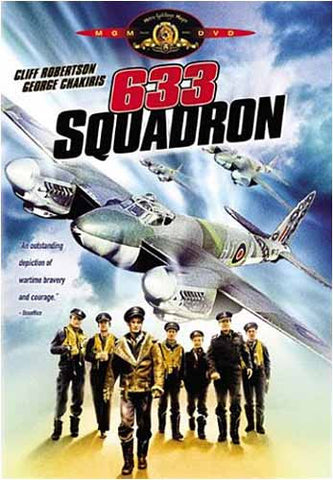 633 Squadron DVD Movie