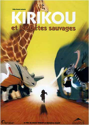 Kirikou et les betes sauvages (French) DVD Movie
