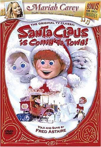 Santa Claus Is Comin  To Town! (Bonus CD Single) DVD Movie