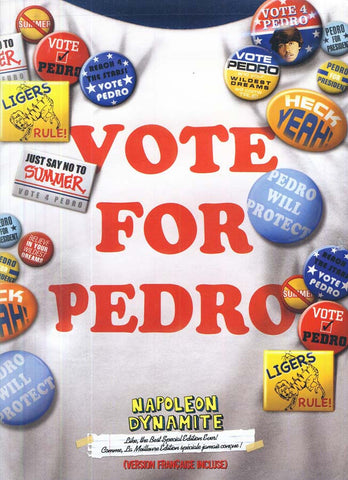 Napoleon Dynamite (Like, the Best Special Edition) (Vote for Pedro Cover) (Bilingual) DVD Movie