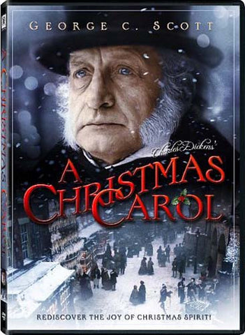 A Christmas Carol (George C. Scott) DVD Movie