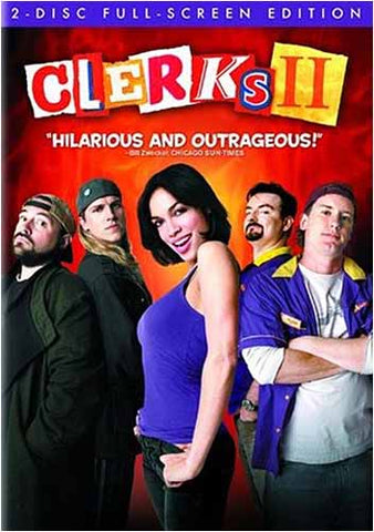 Clerks II (2) (Two-Disc Full Screen Edition) (Bilingual) DVD Movie
