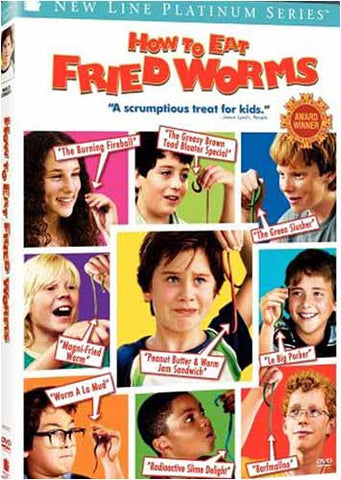 How to Eat Fried Worms (New Line Platinum Series) (Bilingual) DVD Movie