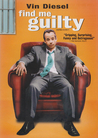 Find Me Guilty (Bilingual) DVD Movie