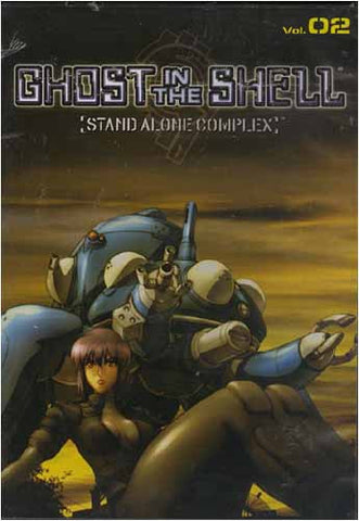 Ghost in the Shell - Stand Alone Complex - Volume 02 DVD Movie
