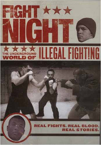 Fight Night - The Underground World of Illegal Fighting DVD Movie