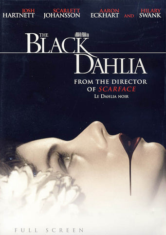 The Black Dahlia (Josh Hartnett)(Bilingual) DVD Movie