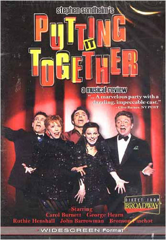 Putting It Together - A Musical Review DVD Movie